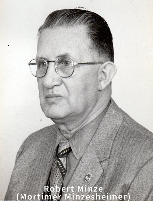 Helen's Father, Robert Minze