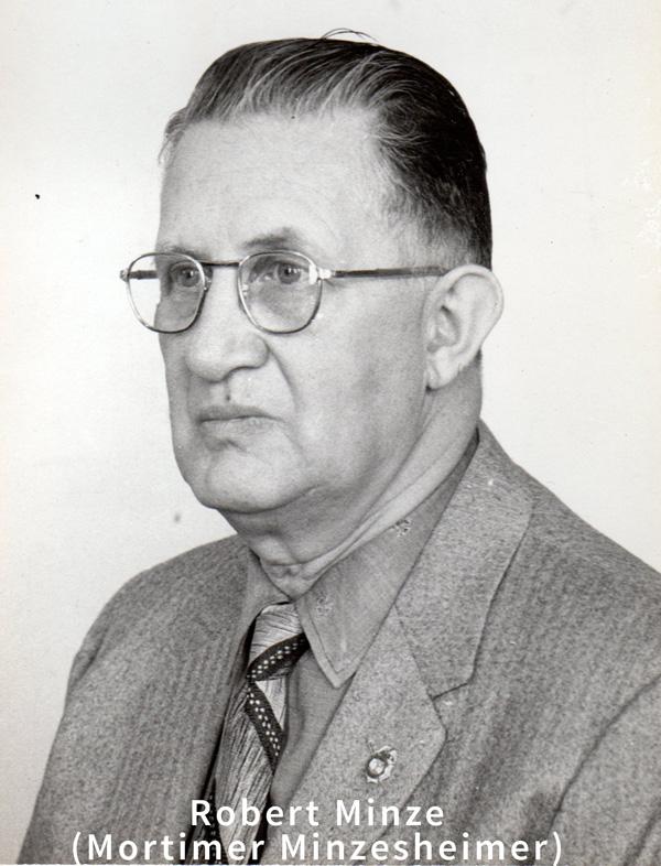 Helen's Father, Robert Minze